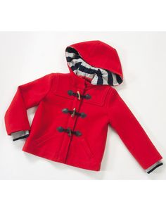 Burda - Girl's Duffle Coat 10/2011 #139