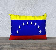 """20""""+x+14""""+pillow+""""Venezuela""""+by+eliso+ignacio+silva+simancas"""