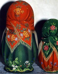 Девочки   Матрешка   Трегубова Светлана
