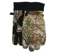 Weekend plans: Ice fishing // Clam® IceArmor® Insulated Camo Gloves #scheels