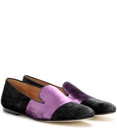 65a7b49076c860 DRIES VAN NOTEN Velvet Slippers.  driesvannoten  shoes  flats Velvet  Slippers