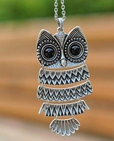 Zara #owl #neckless