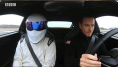 M. Fassbender and The Stig
