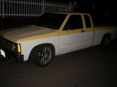 1991 Chevrolet S-10 4x4 Extra Cab by s10 warrior http://www.truckbuilds.net/1991-chevrolet-s-10-4x4-extra-cab-build-by-s10-warrior