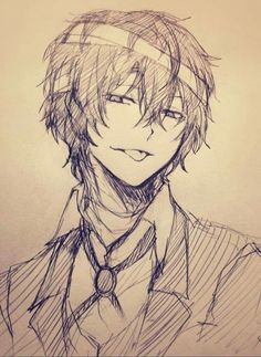 Imagine tsundere Dazai