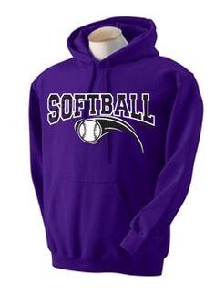Amazon.com: Zebra Hoodie Softball: Clothing