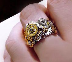 steampunk ring