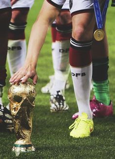 Stay, little World Cup trophy, stay