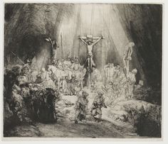 Rembrandt Harmensz. van Rijn | The Three Crosses, Rembrandt Harmensz. van Rijn, 1653 |
