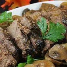 Mushroom Slow Cooker Roast Beef Allrecipes.com