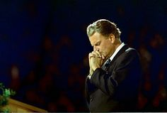 "Billy Graham: ""He held a crusade in Chattanooga, Tennessee where hundreds of thousands of men, women and children of all races sat together and worshiped the Lord.""  The year: 1953.  Source: http://www.cbn.com/cbnnews/326348.aspx"