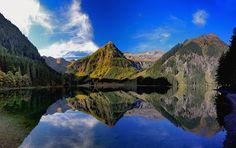 Schwarzensee, Sölktal, Schladminger Tauern, Steiermark, Österreich Hier auch Stub Schlucht Marmorbach