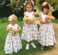 Vestido infantil Marina, da Maison Baby! Estrelando as filhas das top bloggers @blogdamariah @blogaskmi