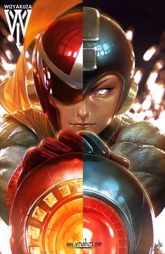 Proto Man/Mega Man Split – Wizyakuza.com