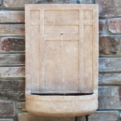 Wall Fountain Outdoor weathered zinc wall fountain - 5-spout $2295 special $2065