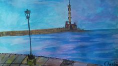 Chania -watercolor