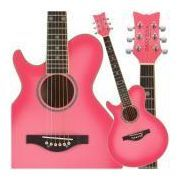 need to learn how to play, so i can actually use my pink guitar, instead of using it as decoration!!