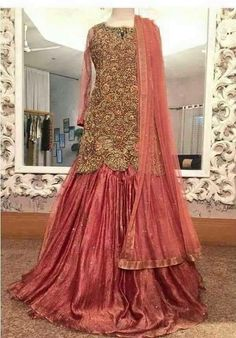 Fashion Tips Jewelry Latest Wedding Bridal Sharara Designs & Trends Collection.Fashion Tips Jewelry Latest Wedding Bridal Sharara Designs & Trends Collection