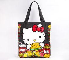 Hello Kitty Tote Bag: Hamburger