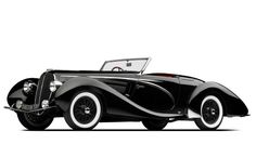 1938 Delahaye 135 MS Competition Cabriolet by Figoni & Falaschi.