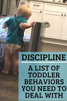 You may be surprised to find out that YOU the parent could be the reason your toddler's behavior is a problem. Boundaries and discipline are important. Here is a list of common toddler behavior problems and how to make a plan! #toddler #toddlerdiscipline #toddlerbehavior #discipline #behaviorproblem Child Behavior Problems, Kids Behavior, Parenting Toddlers, Parenting Hacks, Toddler Discipline, Terrible Twos, Raising Kids, Raising Daughters, Behavior Management