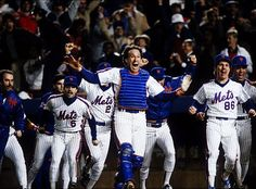 Gary Carter started the rally. Game 6, 10th inning - October 25, 1986.