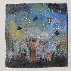 Forest Night  Mary Stanley