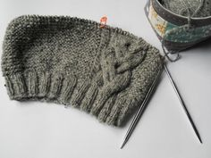 DIY Knitted Winter Hat