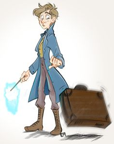 Fantastic Beasts and Where to Find Them: Newton by muminika.deviantart.com on @DeviantArt