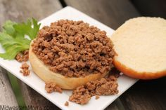 A great copycat recipe for the Tastee Sandwich, a loose meat sandwich popular in the Midwest. This sandwich is a staple at the Tastee Inn & Out Restaurant.