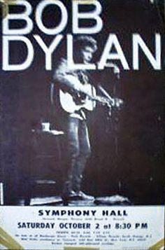 10 02 1965 Bob Dylan Concert