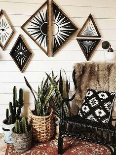 House Helpful Tips For modern home design trends Modern Decor, Rustic Decor, Modern Interior, Interior Design, Rustic Chic, Boho Chic, Modern Design, Home Decor Bedroom, Diy Home Decor