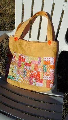 Super cute Scrappy Bag Tutorial