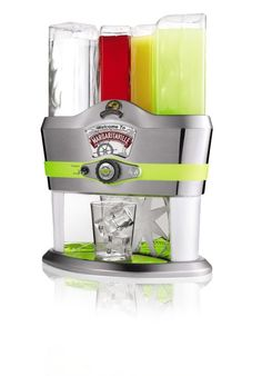 The Margaritaville® Mixed Drink Maker makes the drinks and makes the party. Simply push one button and you can serve up to 48 different cocktails to satisfy any guests. Bed & Bath, Yummy Drinks, Fruity Drinks, Fun Drinks, Yummy Food, Holiday Gift Guide, Mixed Drinks, Kitchen Gadgets, Kitchen Stuff
