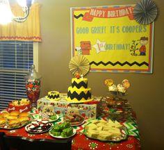 Charlie Brown Christmas Birthday
