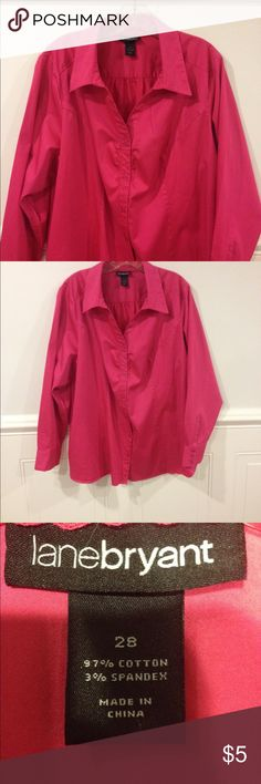 Size 28 Lane Bryant blouse good condition Size 28 Lane Bryant blouse good condition Lane Bryant Tops Blouses