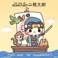 The Heroic Tale of Momotaro (The Peach Boy)