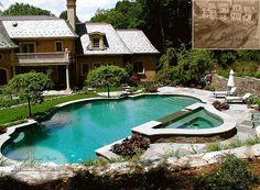 A Classically Designed  Formal Swimming Pool in NJ by summerset gardens, via Flickr