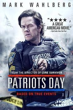 Patriots Day, Movie on DVD, Drama Movies, Thriller & Suspense