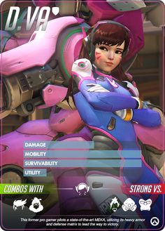 Overwatch - D.Va Hero Profile