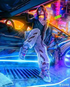 Cyberpunk 2077, Cyberpunk City, Ville Cyberpunk, Cyberpunk Kunst, Cyberpunk Aesthetic, Cyberpunk Fashion, Neon Aesthetic, Aesthetic Drawing, Aesthetic Girl