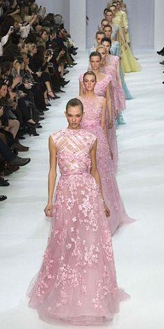 Paris Haute Couture: Elie Saab spring/summer 2012... always blows me away!