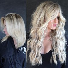 NBR extensions at dkwstyling salon Blonde Hair Extensions Before And After, Long Hair Extensions, Haircuts For Long Hair With Layers, Long Layered Hair, Beauty Box, Hair Beauty, Going Blonde, Lion Mane, Makeup Goals