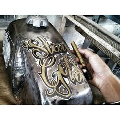 motorcycle gas tank #daengcuston