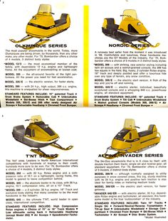 1970S Skidoo Snowmobile - Bing images Vintage Sled, Vintage Ads, Snow Vehicles, Bumper Hitch, Old Yeller, Snow Sled, Snow Machine, Snow Fun, Old Tractors