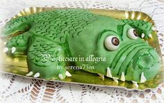 pasticciare in allegria: Torta Coccodrillo..