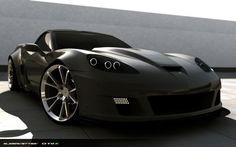 All New Conversion from Supervettes LLC Corvette Summer, Corvette Grand Sport, Corvette Zr1, Chevrolet Corvette, Corvette America, Forged Wheels, Hot Rides, Sweet Cars, Back To Black