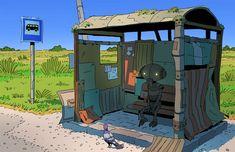 Gorgeous Illustrations by Varguy – Inspiration Grid | Design Inspiration #illustration #drawing #digitalillustration #studioghibli #miyazaki #illustrationinspiration #inspirationgrid