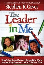 The Leader in Me: How Schools and Parents Around the World Are Inspiring Greatness, One Child at a Time by Stephen R. Covey - interesting look at how some schools are implementing the 7 Habits of Highly Effective People into formal educational settings Leader In Me, Seven Habits, 7 Habits, Verona, Data Notebooks, Data Binders, I School, School Ideas, School Stuff