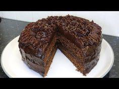 Light Cakes, Chocolate Ganache, Baking, Desserts, Food, Tailgate Desserts, Deserts, Bakken, Essen